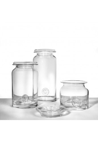 Bonbonniere met deksel Vic Small clear glass